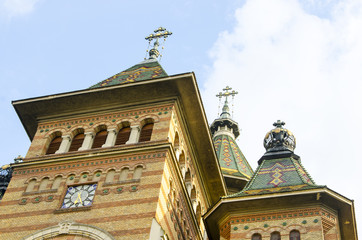 church building detail