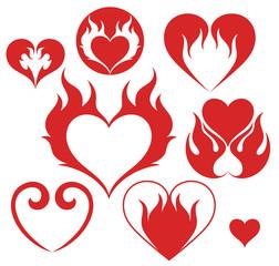 Heart. Fire