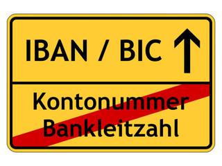 Überweisungen mit IBAN und BIC