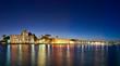 Town of Kos island twilight cityscape