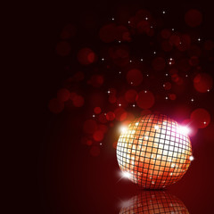 Party Ball Music Background