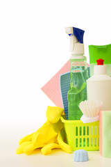 Means and cleaning tools
