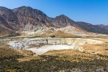 Active volcano of Nisyros, Greece