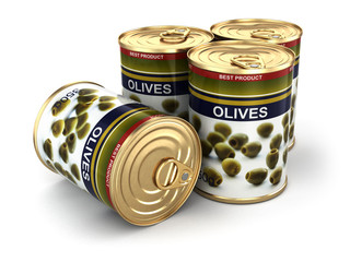 Canned olives.