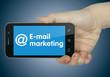 E-mail marketing. Phone