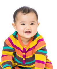 Baby girl giggle