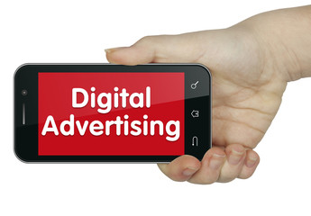Digital Advertising. Phone