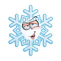 SnowFlake Emoticon - Hey You