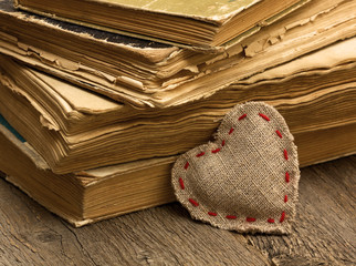 heart and old books