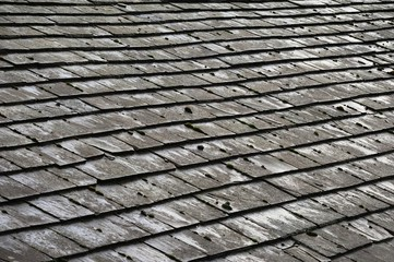 Gray Roofing Slates