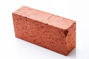 Solid clay brick used for construction