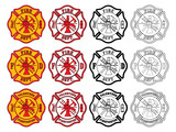 Firefighter Cross Symbol