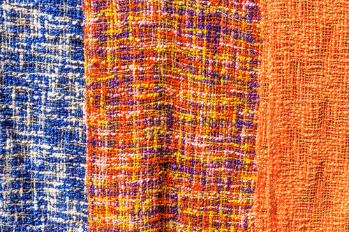 Pattern of Colorful Neck-clothes, Lunagprabang