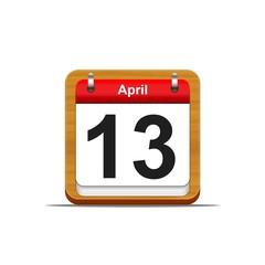13 de abril.