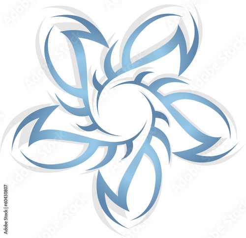 wind or starm icon vector