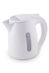 Modern electric kettle (Clipping path)