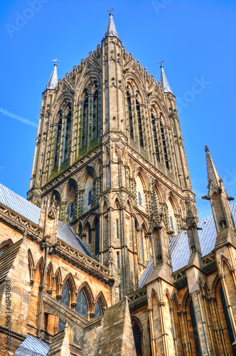 Lincoln Cathedral tower, UK