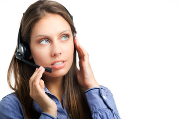 Isolated call center operator