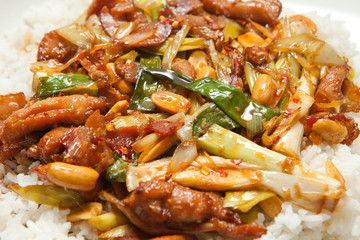 Traditionsl asian food