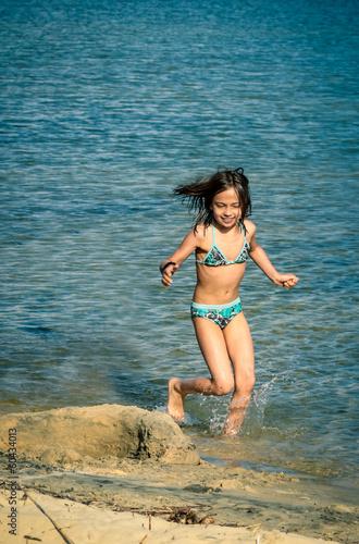 jouer à la plage