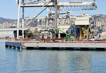 industrial wharf