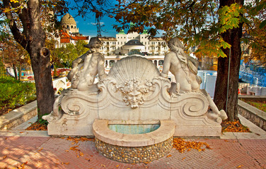 Gellert thermal baths in Budapest