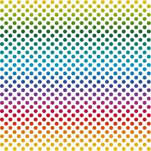 Fond sans fin points colorés