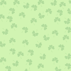 Background-Light Green Clovers