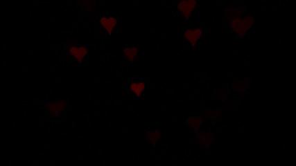 Blinking hearts