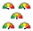 Manometri pressione temperatura bassa moderata alta