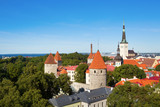 Scenic view of the Old Town of Tallinn