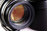 Camera dslr lens close-up