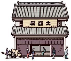 江戸時代商家