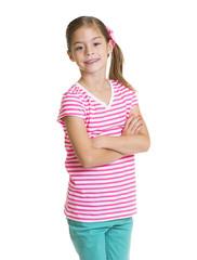 Cute Hispanic Little girl Portrait