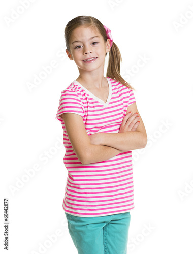Cute Hispanic Little girl Portrait