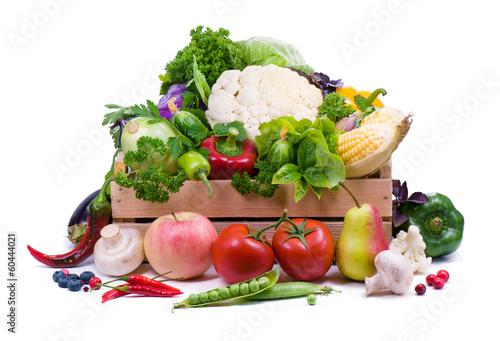 Ripe vegetables.Healthy eating.