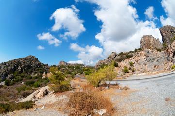 Lasithi Plateau Road