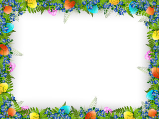 Easter Decorative Frame
