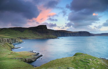 View of Neist Point, Highlands of Scotland, Europe
