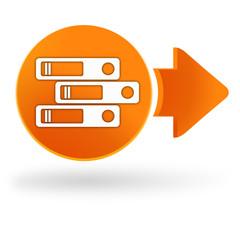 classer sur symbole web orange