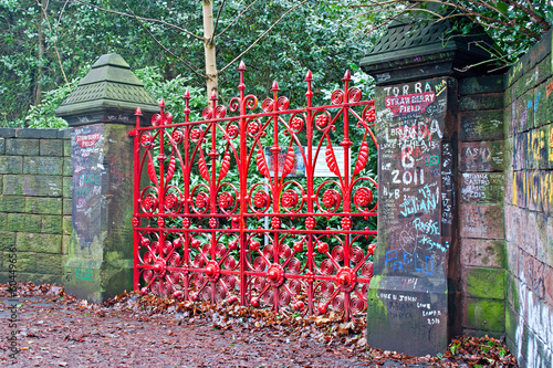 """The Beatles"" heritage trail, Strawberry Field Gates"