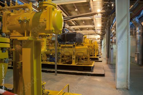 Газотурбинная станция на попутном газе