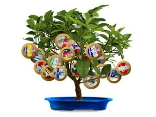 Tree eurozone