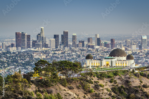 Fototapeta Downtown Los Angeles, California
