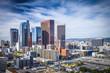 Downtown Los Angeles, California Skyline