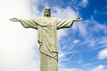 Christusstatue in Rio de Janeiro, Brasilien
