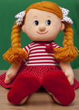 Red haired baby doll