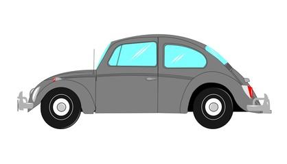 vintage beetle car