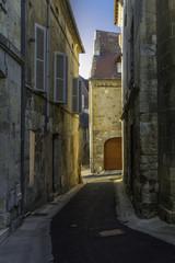 Ruelle à Bergerac en Dordogne,