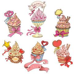 Set Cupcakes